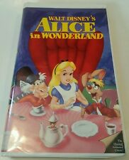 Alice in Wonderland (VHS, 1998) BLACK DIAMOND #$& SHIPS FREE$*$