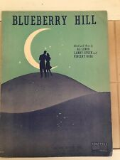 """""""Blueberry Hill"""" Vintage Sheet Music"""