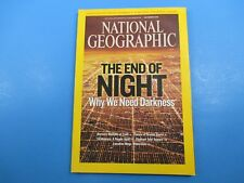 National Geographic Magazine November 2008 The End of Night Why We Need Darkness