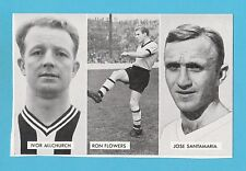FOOTBALL - D.C. THOMSON -  CUP - TIE  STARS  OF  ALL  NATIONS  CARD  (G) -  1962
