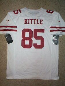 *IRREGULAR* sf 49ers GEORGE KITTLE nfl NIKE Jersey YOUTH KIDS BOYS (xl)