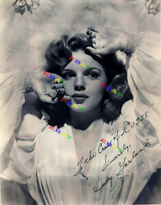 Judy Garland Wizard of Ozz Autographed Signed 8x10 Photo Reprint
