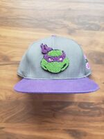 Donatello Textured Snapback Hat - Teenage Mutant Ninja Turtles