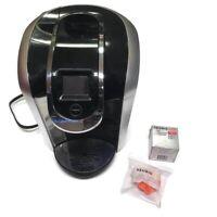 KEURIG Hot 2.0 K400 K-Cup Machine Coffee Maker Brewer BLACK & Water Filter Pods