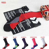 1X Men Women Riding Cycling Sports Socks Unseix Breathable Bicycle Footwear EB