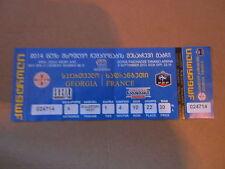 Billet match Géorgie / France - 6 septem 2013 - Qualification coupe du monde - 1