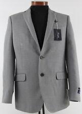 Men's RALPH LAUREN Gray Silk Wool Jacket Blazer 42L 42 Long NWT NEW Slim Fit