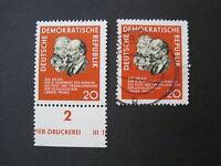 DDR MiNr. 1120 postfrisch & gestempelt (V 830)