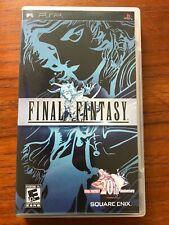 Final Fantasy (Sony Psp, 2007) Cib, Tested, Great