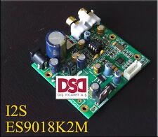 ES9018K2M ES9018 I2S Input DAC Decoder Board Support IIS-32bit 384K / DSD64