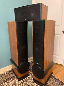 Snell Acoustics XA-75ps + Snell XA 55cr High End Speaker Set