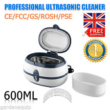 600ml Digital Ultrasonic Cleaner Professional Cleaning for Jewelry Watch Glasses