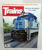 Trains Magazine Of Railroading August 1989 Amtrak Atlantic City Express CSX