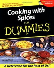 Cooking with Spices For Dummies by Jenna Holst, (Paperback), For Dummies , New,