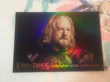 2003 Lord of the Rings RoTK Foil Trading Card King Théoden Theoden
