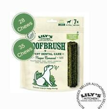 Lily's Kitchen Woofbrush Dog Dental Chew For Small-Large Dogs (4 or 5 x 7 Pack)