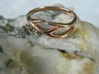 Clogau 9ct Rose Welsh Gold Red Hart Ring RRP £280.00 size L