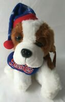 Pepsi Boyd St Bernard Plush Stuffed Animal 8in Winter Holiday Brown and White