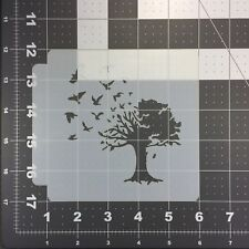 Tree of a Feather 100 Stencil