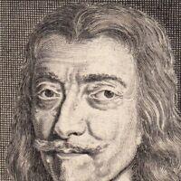 Portrait XVIIe Charles De Valois Angoulême Comte d'Auvergne Grand Prieur France
