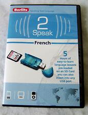 Berlitz 2 Speak French Media Stick and USB Card