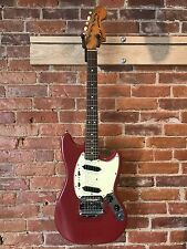 Fender Mustang 1970 Vintage Electric Guitar w Original Hard Case