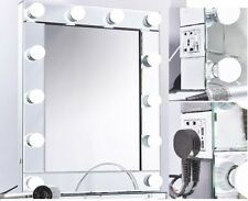 Hollywood 12 LED XL Dimmable Bulbs Illuminated Makeup Mirror Highest Quality UK