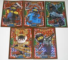 Lego Ninjago Serie 4! 5 LE Karten Trading Card Game LE 6 LE 7 LE 23 LE 2 LE 4