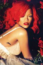 Rihanna Red Hair Sexy Poster 24 x 36 R&B Pop Dance Music Memorabilia Print New