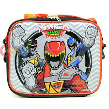 Power Rangers Dino Charge School Lunch Bag Snack Insulated Box Lunch Cooler