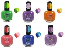 Mia Secret Mood Nail Lacquer Color Changing Nail Polish Set of 6