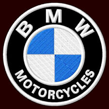 """BMW XL EMBROIDERED BACK PATCH ~11"""" MOTORCYCLE 100 GS K1200R K1 F 650 R 100 S1000"""