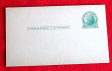 Pre Stamped USA 1 Cent Mailing Cards Lot of Five  c
