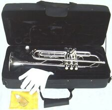 TRUMPET BRAND NEW  Brass  CONCERT BAND TRUMPETS .WARRANTY.