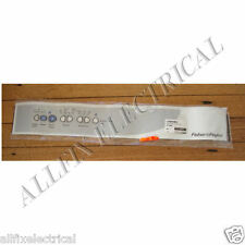 Fisher & Paykel ED56 Dryer Normal Panel Decal - Part # FP427610, 427610