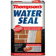 Water Seal Brick Stone Render Waterseal stone, concrete and wood 2.5L