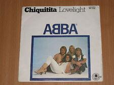 "ABBA CHIQUITITA SUNG IN ENGLISH SPANISH ORIGINAL ISSUE 7"""