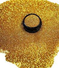 3ml Glitter 0,2mm, Dark Gold, Glitterstaub, Puder in Acryl Dose, Nr. 801-027-a