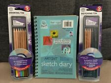 Sketch Diary with Sketch/Drawing Pencils & Instructional DVD