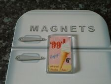 Try a 99 Ice Cream Fridge Magnet. NEW. Retro Sign. Vintage Style. Seaside
