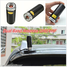 Black Dual Band VHF UHF 400-470Mhz&136-174MHZ Car Bus Mobile Ham Radio Antenna