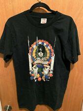 Neil Gaiman Guardian Angel Tour Black Vintage X-Large T-Shirt Very NICE