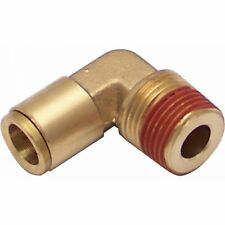 "1/8"" NPT Male to 1/8"" Push Tube Elbow Air Fitting v8 custom hot rod pro classic"