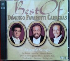 Plácido Domingo Best of Domingo Pavarotti Carreras-Arien & songs (36 tr.. [2 CD]