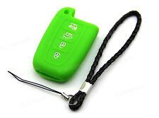 Green Remote Silicone Case Cover For Kia Soul Optima 4 Buttons Smart Key K4GR
