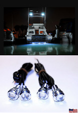 4x White LED Boat Lights Kit Waterproof Pod Bright LED Marine Interior Deck Spot