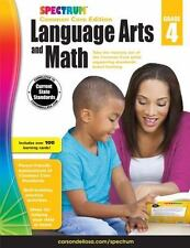 Spectrum Language Arts and Math, Grade 4: Common Core Edition