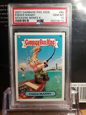 2007 Garbage Pail Kids ANS 6 Series 6 PSA 10 GEM Mint 8b Fisher Manny POP 1