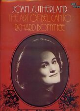 JOAN SUTHERLAND tha art of bel canto RICHARD BONYNGE  UK 1972 EX LP + TEXT INLAY