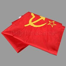 90x150cm Durable Union of Soviet Socialist Republics USSR Flag Red USSR Banner
